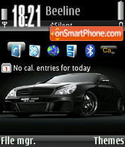 Brabus Rocket theme screenshot