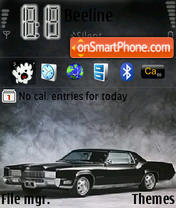 Cadillac 01 theme screenshot