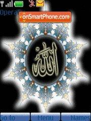 Скриншот темы 2 Allah