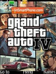 Скриншот темы GTA IV