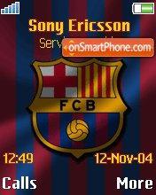 Barcelona FC es el tema de pantalla
