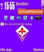 ForzaViola theme screenshot