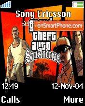 GTA SA es el tema de pantalla