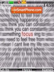 Скриншот темы Focus