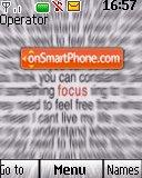 Focus es el tema de pantalla