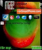 Toxik theme screenshot
