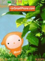 Little Moo Moo theme screenshot