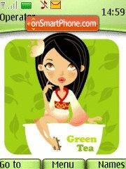 Tea Girl theme screenshot