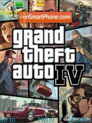 Grand Theft Auto IV es el tema de pantalla