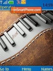 Piano theme screenshot