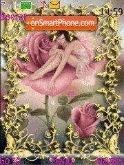 Pink Roses theme screenshot