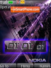 Violet Live theme screenshot