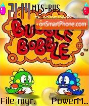 Bubble Bobble es el tema de pantalla
