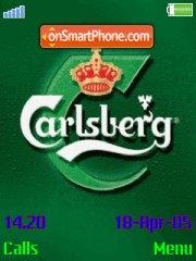 Carlsberg Beer theme screenshot