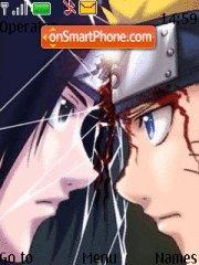 Скриншот темы Sasuke Naruto