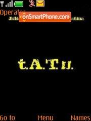 Tatu Wallpaper theme screenshot