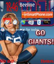 Go Giants es el tema de pantalla