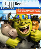 Shrek 08 theme screenshot