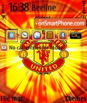 Man Utd QVGA theme screenshot