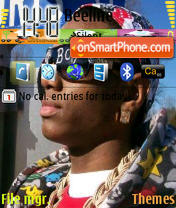 Soulja theme screenshot