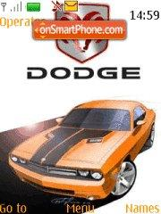 Dodge Challenger 01 tema screenshot
