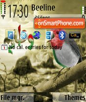 Watani theme screenshot