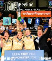 Zenit Uefa Cup es el tema de pantalla