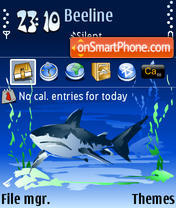 Shark 04 theme screenshot