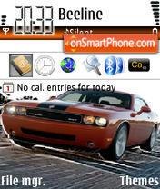 Скриншот темы Challenger Srt-8