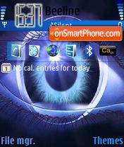Eye theme screenshot