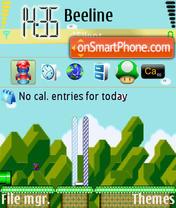 Awesome Classic Mario theme screenshot