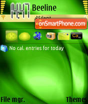 Summer Green Theme for n95 theme screenshot