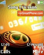 Walkman Classic tema screenshot