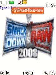 Скриншот темы SmackDown vs Raw 2008 v2.0