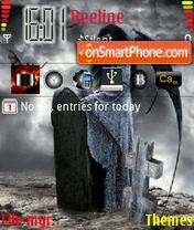 Death 04 theme screenshot