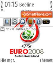 Euro 2008 V2 QVGA theme screenshot
