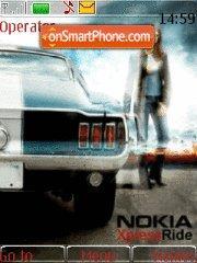 Скриншот темы Nokia Xpress Ride 02