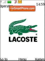 Lacoste 566 theme screenshot
