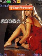 Скриншот темы Shakira 06