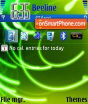 Kalia theme screenshot
