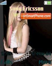 Avril Lavin theme screenshot