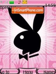 Скриншот темы Pink Bunny Playboy
