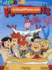 Скриншот темы Flintstones