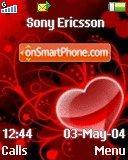 Red Heart Z es el tema de pantalla