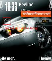 Black Car 01 theme screenshot