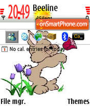 Cartoon Hare Theme-Screenshot