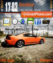 Mustang 09 theme screenshot