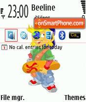Skater Final Edition theme screenshot