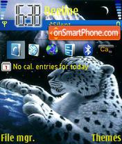 Leopard theme screenshot