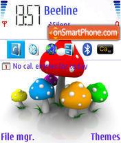 FlyAgaric theme screenshot